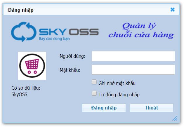 Phần mềm quản lý chuỗi cửa hàng